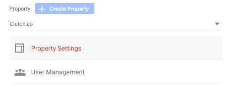 Create Property_Google Analytics